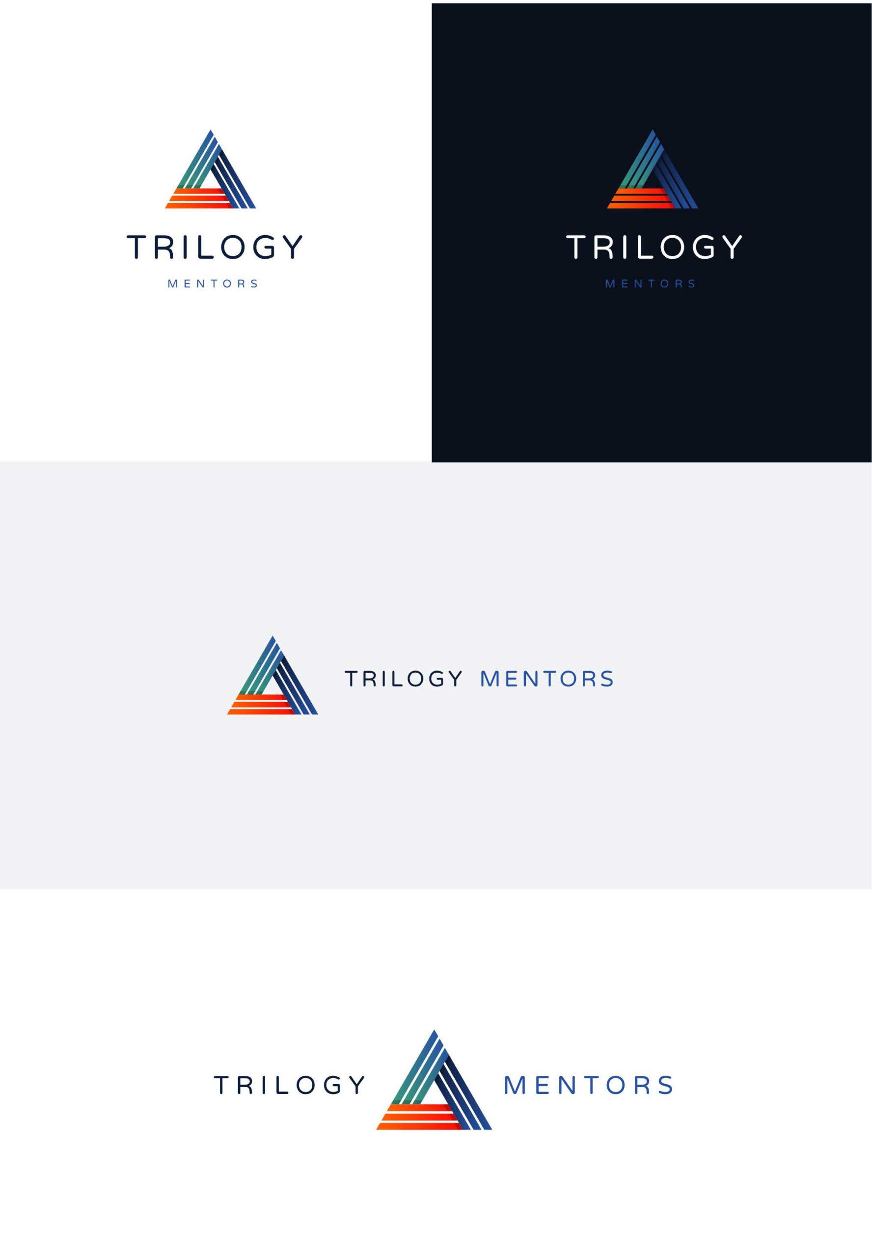 Trilogy Mentors logo concepts